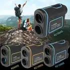 Телескоп лазерный дальномер 600 1000 м лазерный дальномер монокулярный для гольфа охота лазерный дальномер Рулетка Спорт - 1
