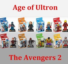 factory price Avengers 2 Age of Ultron Building Blocks Set Model Bricks Classic Toys For Children Kids Christmas Birthday gift