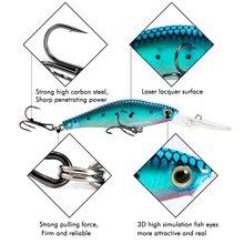 H&K Super Cheap Fishing Lures,10 Color For Choose, Long Shot Minnow,Crank 95mm 7.5g, Dive 1.5m Fishing Tackle Hard Bait HK010