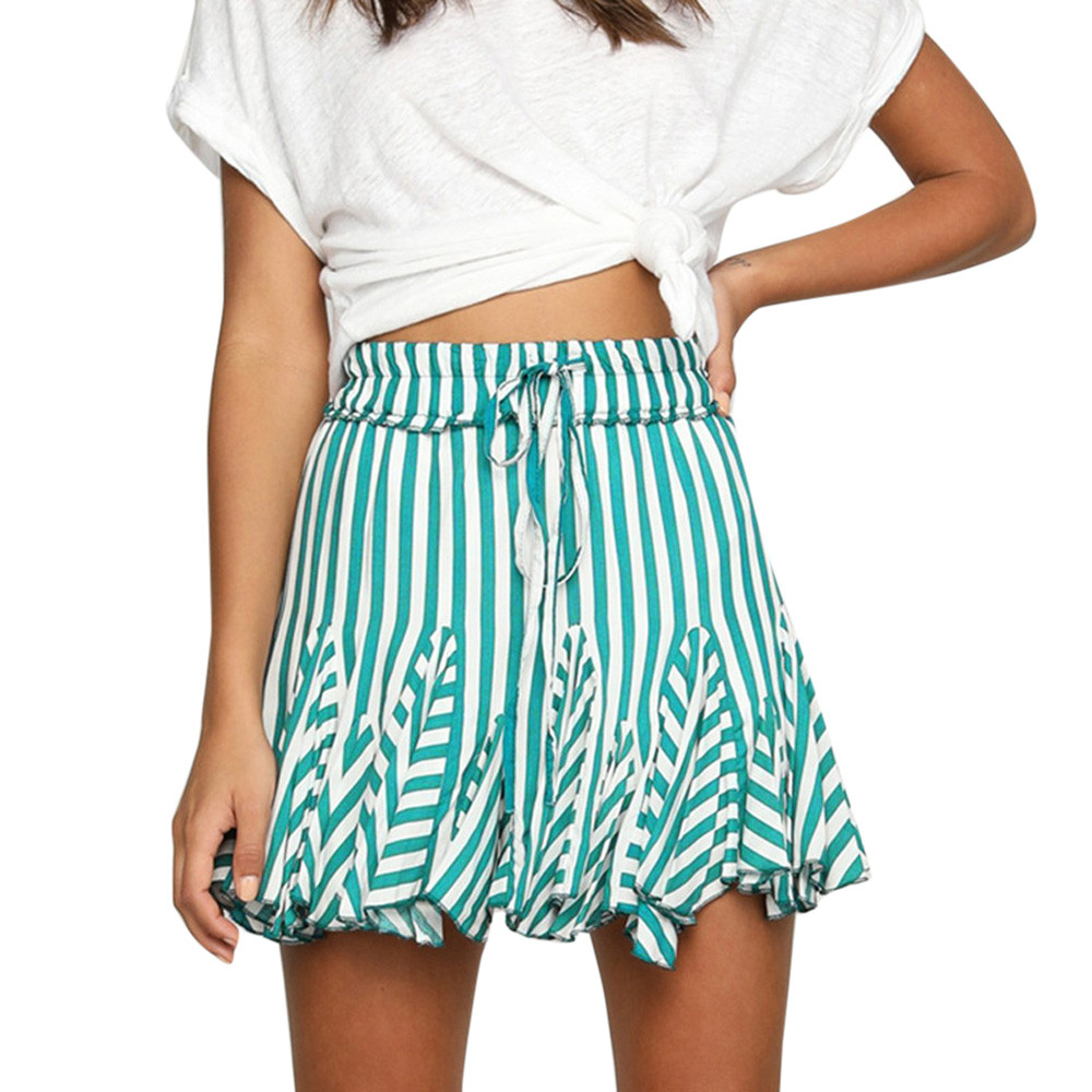 Fashion style Skirts striped for summer for lady