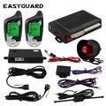 EASYGUARD 2-полосная Автомобильная сигнализация без ключа система автомобильной сигнализации Ультразвуковой Датчик Автомобильная сигнализаци...