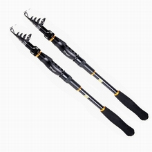 Best Buy Hot sale  1.8m  telescopic  fishing rods   stainless reel seat  rods fishing tackle
