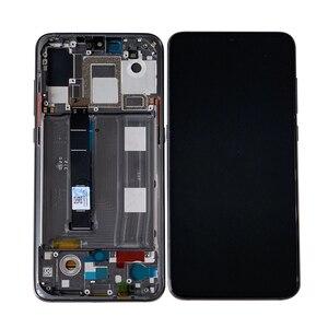 """Image 3 - 6.39 """"oryginalna Supor Amoled M & Sen dla Xiao mi 9 Mi9 mi 9 ekran wyświetlacz LCD + Digitizer Panel dotykowy dla MI 9 Explorer wyświetlacz rama"""