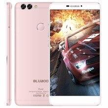 Оригинальные BLUBOO Dual MTK6737T Quad Core 4 Г LTE Смартфон Android 6.0 мобильный телефон 2 ГБ RAM 16 ГБ ROM 13MP 1920×1080 Мобильного Телефона