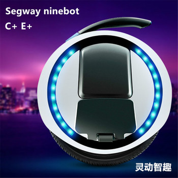 Freeshipping Ninebot One C+ Electric unicycle one wheel scooter Electric balancing car LED,500W,Thinking Monocycles electrioques 2