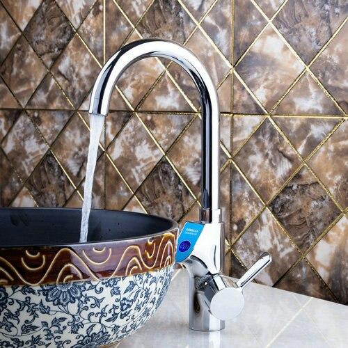 Kitchen Torneira 97126 Instant Electric Winter Hot Water Heater Auto Adjustable Digital Display Wash Basin Mixer
