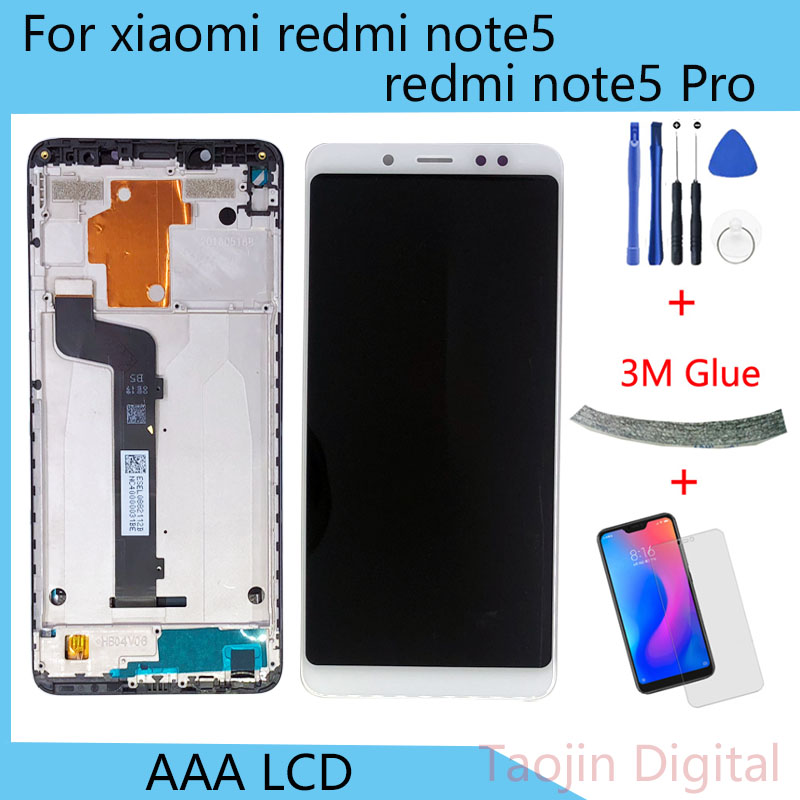 <font><b>5</b></font>.99 inch <font><b>LCD</b></font> <font><b>Display</b></font> For <font><b>Xiaomi</b></font> <font><b>Redmi</b></font> <font><b>note</b></font> <font><b>5</b></font> / <font><b>Note</b></font> <font><b>5</b></font> <font><b>pro</b></font> <font><b>touch</b></font> <font><b>screen</b></font> Digitizer Assembly Frame with image
