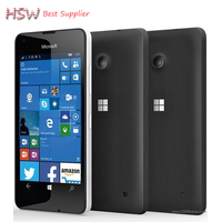 Free Shipping Original Microsoft Lumia 550 8MP Camera Quad Core 8GB ROM 1GB RAM Mobile