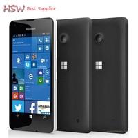 Gratis verzending Originele Microsoft Lumia 550 8MP Camera Quad-core 8 GB ROM 1 GB RAM mobiele telefoon LTE FDD 4G 4.7