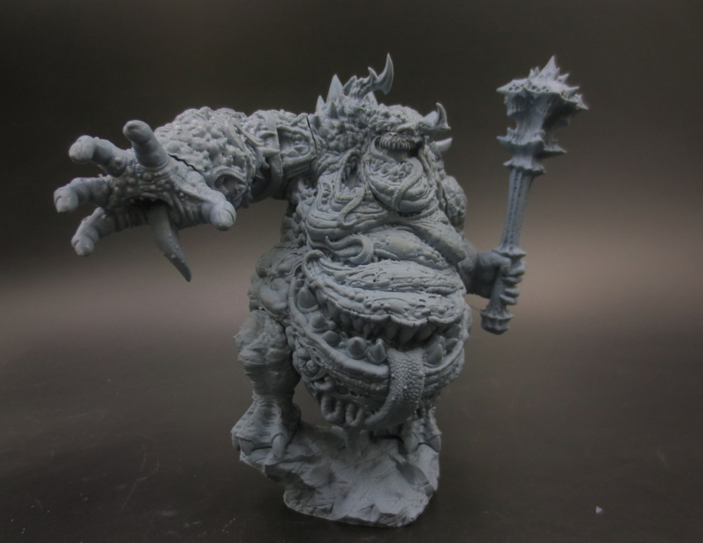 Get Coupons New Resin Figures 160mm Glutton Demon Model Kits