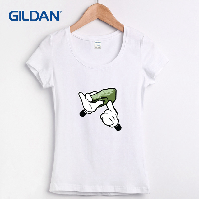 Womens Blue T Shirt Cartoon Hands Get Money 2017 Customize Your Own Tee  Shirt Gildan Create Own T-shirt 100% Cotton Camisa Hop 6f777fe91a