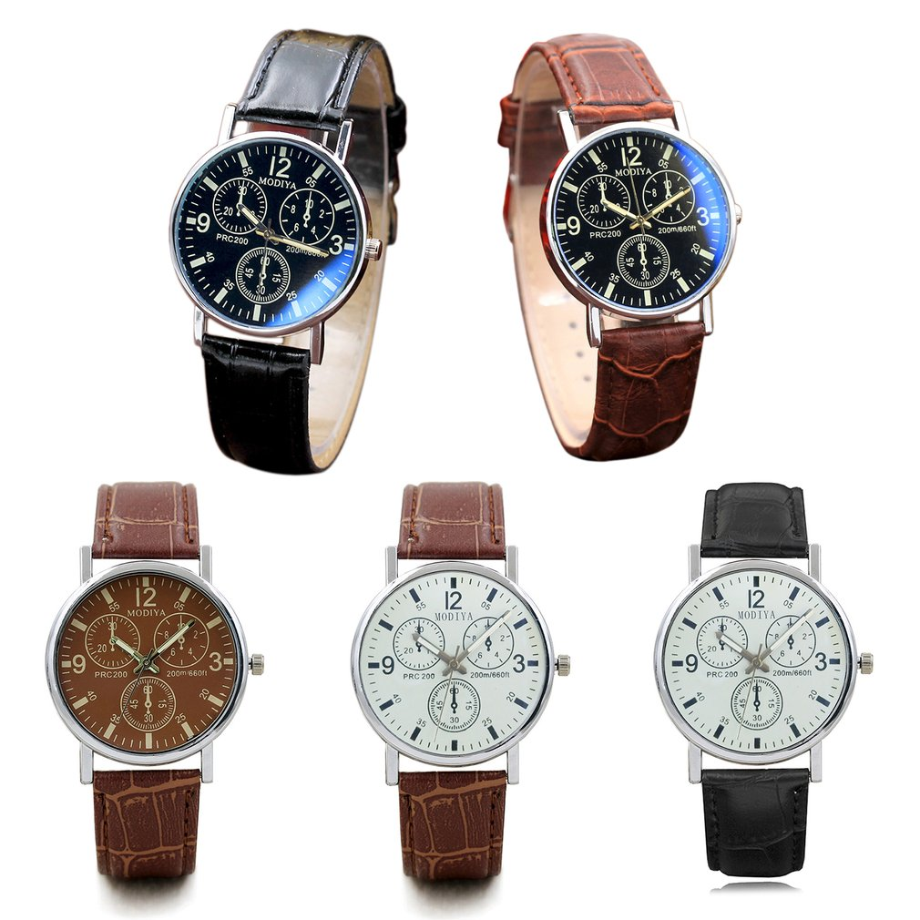 Minimalist Watches New Fashion Luxury Quartz Watches Business Dress Watches Leather Belt Watch Clock For Dropshipping
