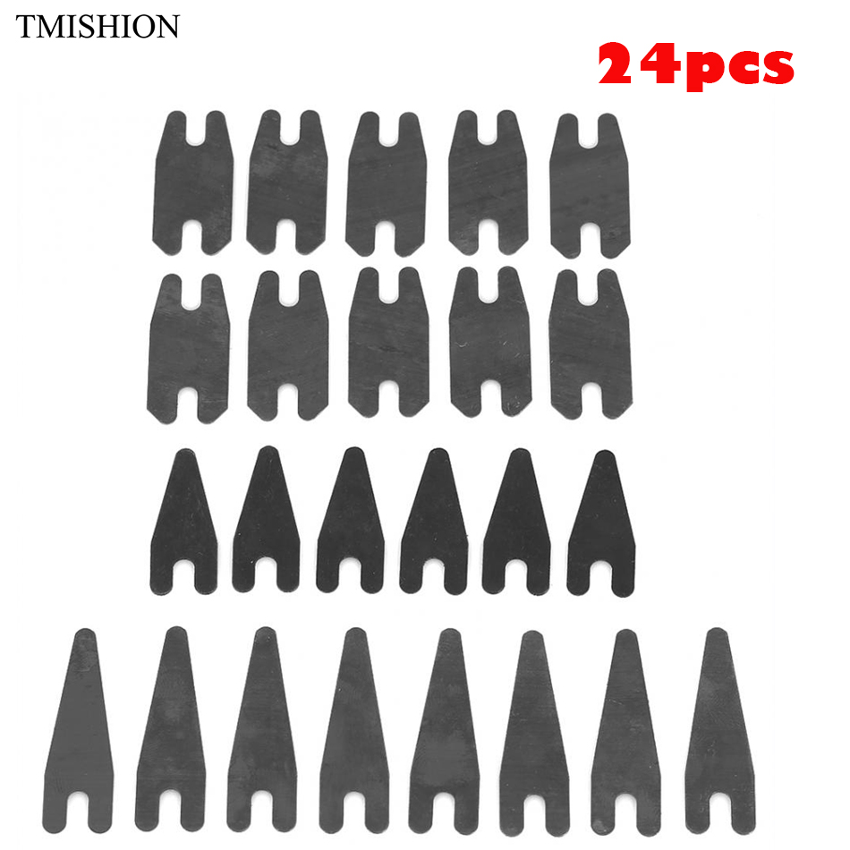 Free Shipping 24Pcs Tattoo Machine Shader Liner Spring Shrapnel Coloring Lining Parts Permanent Makeup Tattoo Accessories Supply