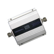 Hot 3G 850MHz GSM CDMA 850 mhz Mobile Phone Cell Phone signal Booster Repeater gain 55dbi LCD display function