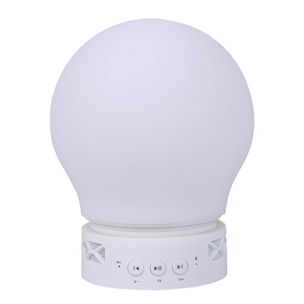 Wireless Bluetooth 3W LED Speaker Bulb Music Playing Bluetooth Control Light Lamp with Alarm Clock Lamp multifunction Led Bulb