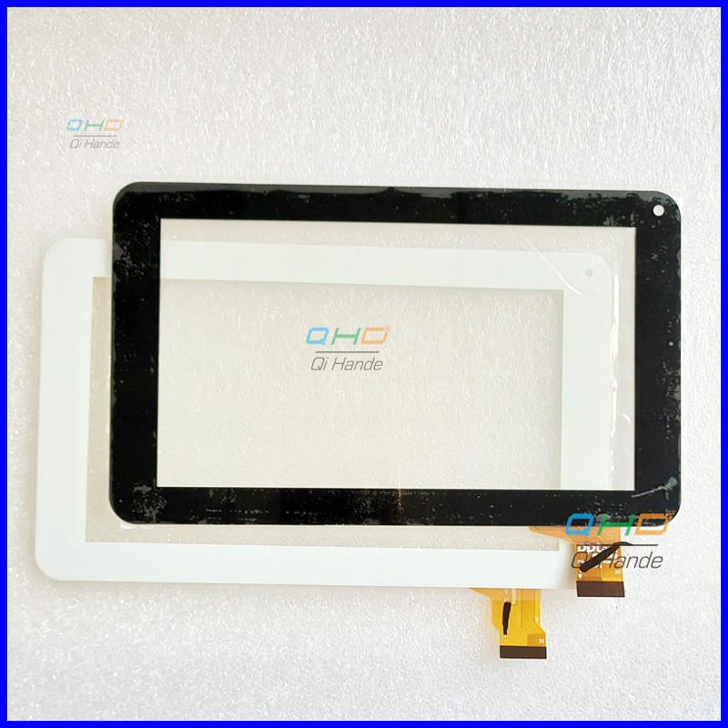 цены white or black New Touch screen Digitizer Bliss Func Happy Pro-01 Tablet Outer Touch panel Glass Sensor replacement touchscreen