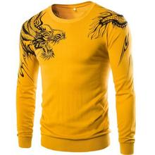 Men Sweater Autumn Fashion Brand High-grade personality Casual Sweater Slim Knitting Mens Sweaters And Pullovers Men Pullover