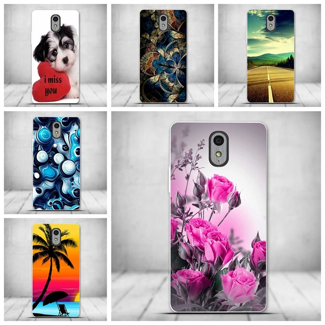 Soft Tpu Phone Cover Case For Lenovo Vibe P1m Case Luxury 3d Printed