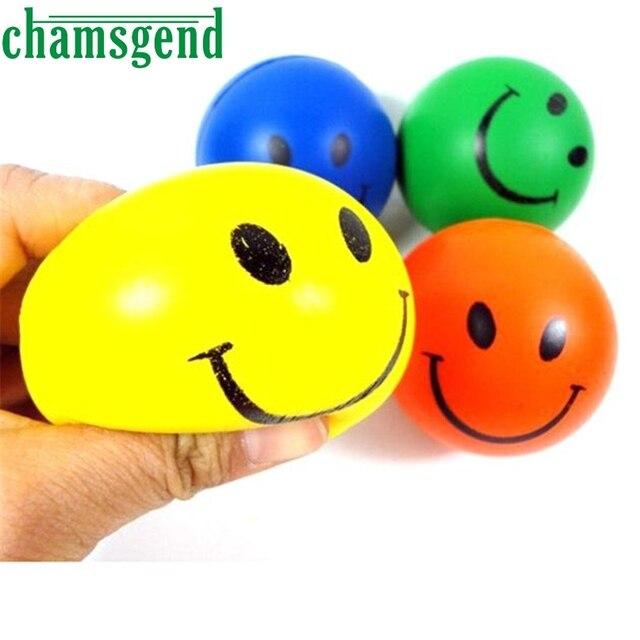 Casa e Giardino Nuovo Caldo di Alta Qualità 1 PZ Mini Neon del Fronte di Sorriso Relaxable Balls goccia 0526