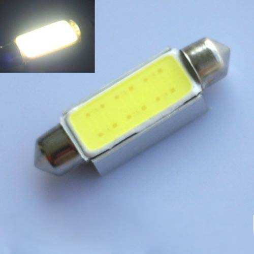 2016 New 2pcs/Set 42mm C10W Festoon CAN BUS PLASMA COB LED SIZE interior SMD bulbs 12V