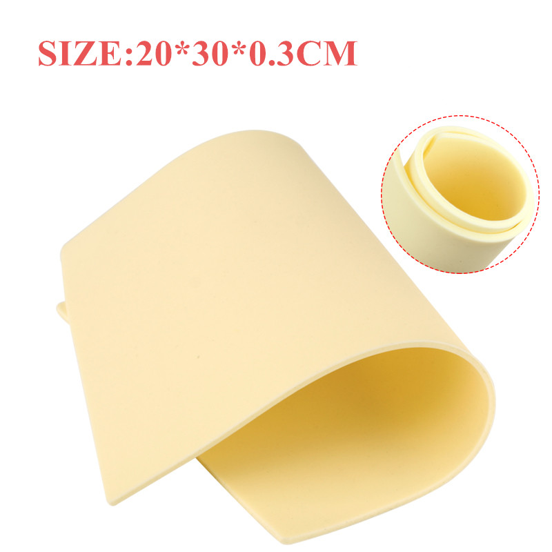 New! High Quality Thick Tattoo Practice Skin Blank Silicone Double Sides Supply A4 Size (20*30*0.3CM) Supply