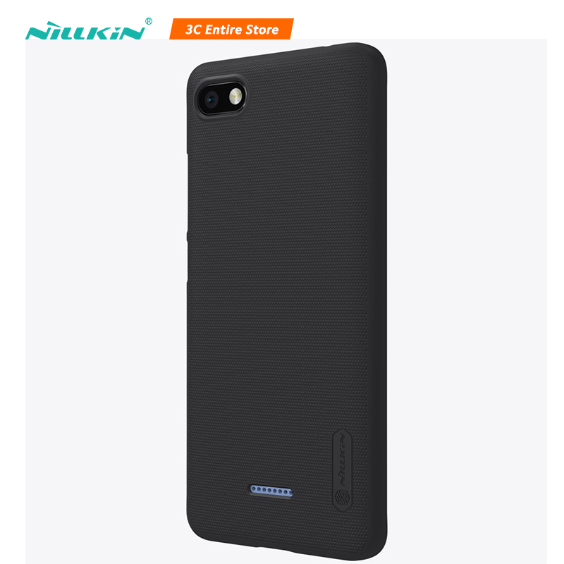 Nillkin Phone Case For Xiaomi Redmi 6A Case Frosted Shield PC Cover For Redmi 6A Shell Protection Business Capinha For Redmi 6A Redmi