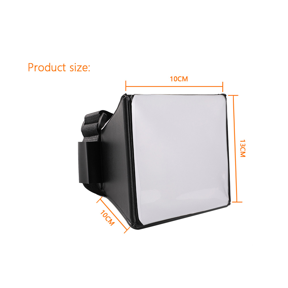 Fodling Складной мини софтбокс рассеиватель софтбокс + 12шт фильтр цветовой баланс гель для Canon/Nikon/Сони вспышка ЭОС