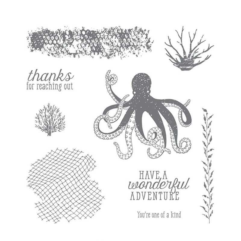 Octopus Clear Stamp For Scrapbooking Transparent Silicone Rubber DIY Photo Album Decor Image