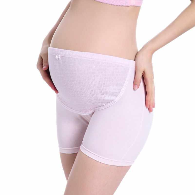 Majtki ciążowe dla kobiet w ciąży bielizna wysokiej talii majtki ciąża Intimates wsparcie brzucha opaska na pas