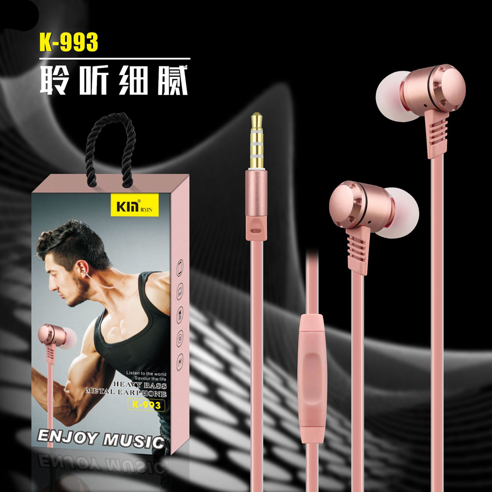 qijiagu 10pcs In-Ear Metal Earphone wired Control Stereo Sound With Mic Sport Earphones for smartphone PC MP3 MP4 fumalon sports earphone running with mic for mp3 player mp4 mobile phones in ear earphone sound isolating earphone