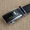 2.5CM plowman Automatic buckle Leather Belt
