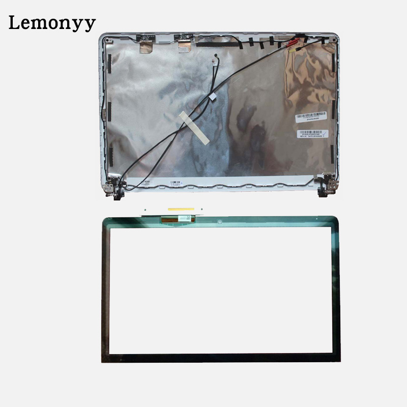 Laptop LCD touch Cover/LCD touchscreen Front Glass FOR Sony Vaio SVF15218SNW SVF15218CXB SVF152a SVF153b SVF154b SVF153A1 hinges touch touchpad touchscreen glass h3121a neoft52