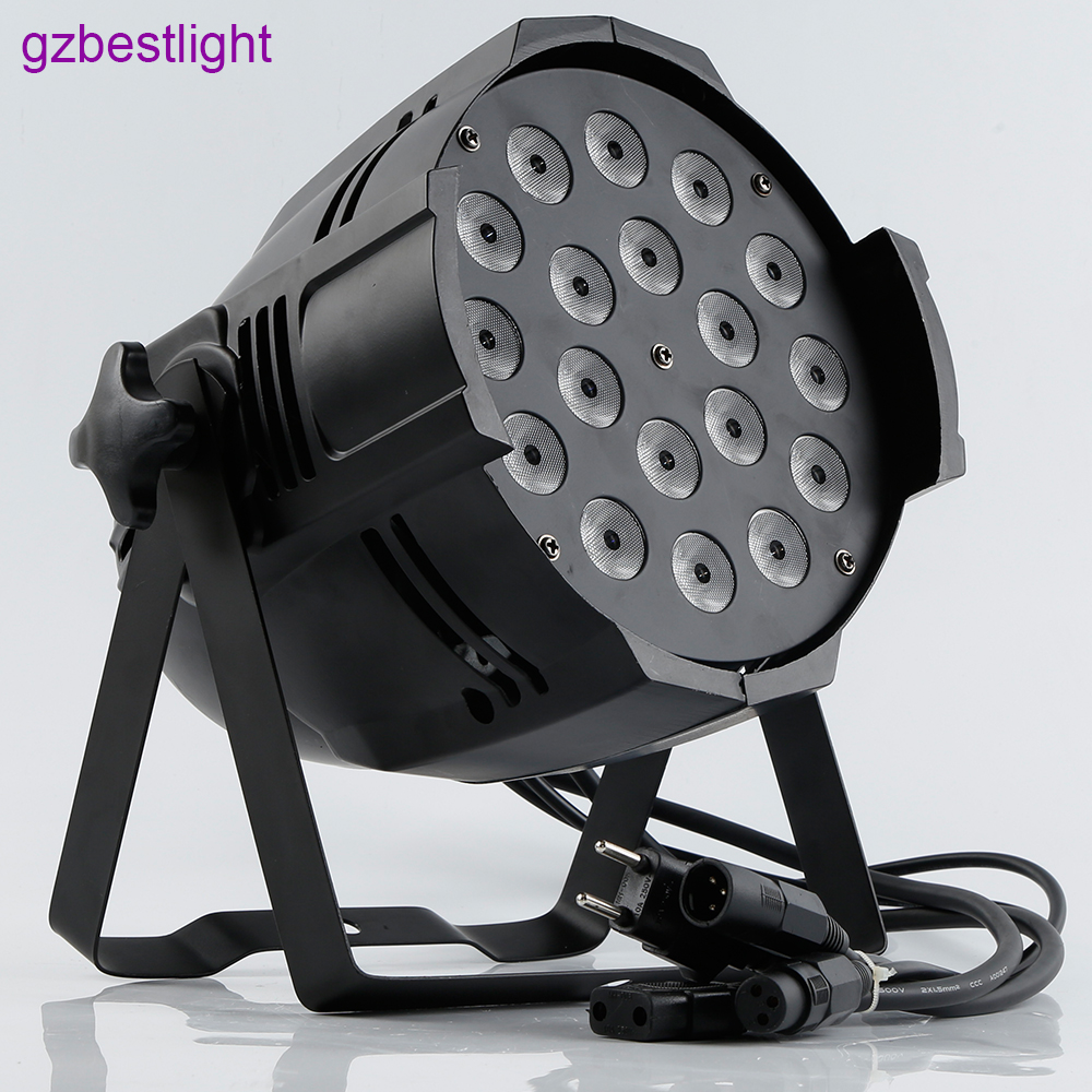 conduziu a luz do par rgbw led par can controle 02