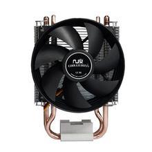 НОВЫЙ 90 мм вентилятор, 2 тепловых трубок, сторона-выдувное, для Intel LGA775 1150 115x, AM2 AM3 FM1 FM2, ПРОЦЕССОРНОГО кулера, CoolerBoss SLF-343S Бесплатная shippin