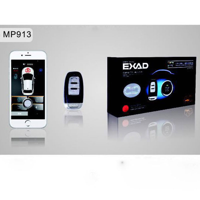 Android Remote Vehicle PKE Start Stop Button Keyless Entry System Push Button One History Function Car Alarm System Smartphone easyguard pke car alarm system remote engine start stop shock sensor push button start stop window rise up automatically