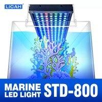 LICAH соленой воды светодио дный аквариум светодиодный свет STD-800 Бесплатная доставка
