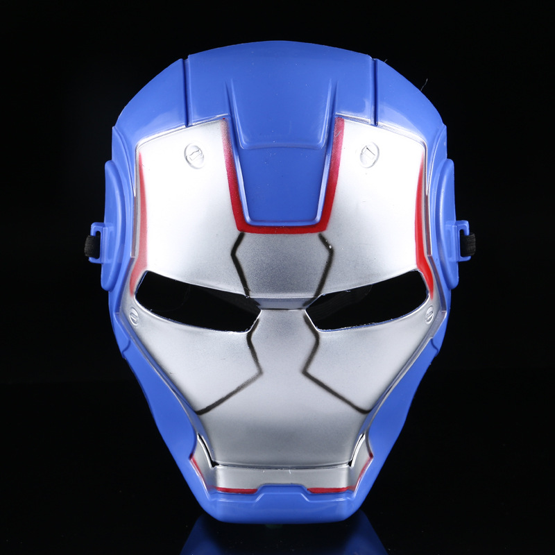 Aliexpress 11.11 2017 New Blue Iron Man Masks Halloween Halloween Costumes Mask