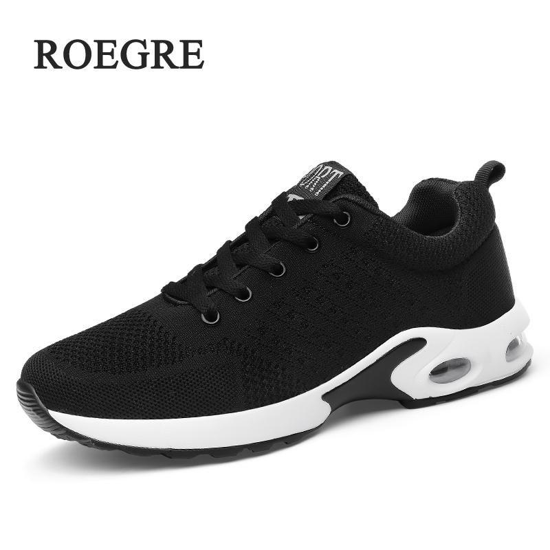 ROEGRE Unisex Sneakers Shoes Men Casual Shoerainers Zapatillas Hombre Coups Male Krasovki Fly Weave Sneakers Tle Big Size 35-45