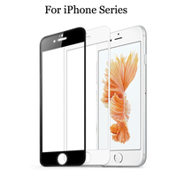 9H Front Full cover Body Tempered Glass For iPhone 5 5s 5c SE 6 6s 7 8 Plus X Screen Protector Protective guard Film