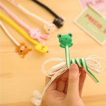 Lovely Cartoon Animal Long Cable Winder Wire Organizer Wire Holder For Earphonec&ables
