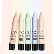 Full concealer cover pen for women highlight foundation base contour stick Face makeup Cosmetic face corrector pen