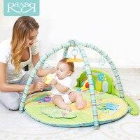 Babyruler мягкий электрический ребенка играть Коврики 0 18 месяцев Игрушки для маленьких детей Детское одеяло Ковры детские музыкальные вышибал