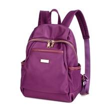 Дизайн 2017 водонепроницаемый нейлон моды mochilas рюкзак женщины feminina дамы сумка женская пакет daypacks mochila эсколар
