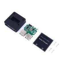 USB Solar Power Charger Regulator Buck Controller DC 5V 20V to 5V 3A/2A Solar Panel Regulator Folding Bag With Cover Screws