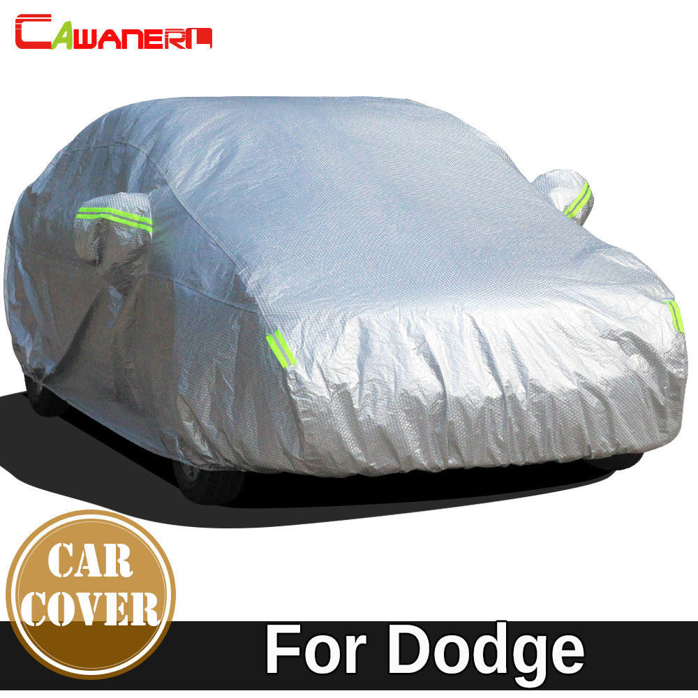 Cawanerl Cotton Car Cover Sun Snow Rain Hail Protection Waterproof Cover For Dart Magnum Spirit Stealth Stratus