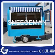 churros food trailer push cart