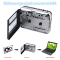 USB tape Walkman tape signal converter to MP3 Walkman stereo cassette machine Tape Cassette to PC MP3 Converter Capture Walkman