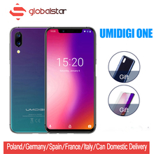 UMIDIGI One Helio P23 Octa-core 4GB 32GB Android 8.1 Cell Phone 5.9″ Full Display 12MP+5MP Type-C Face ID Dual 4G Smartphone