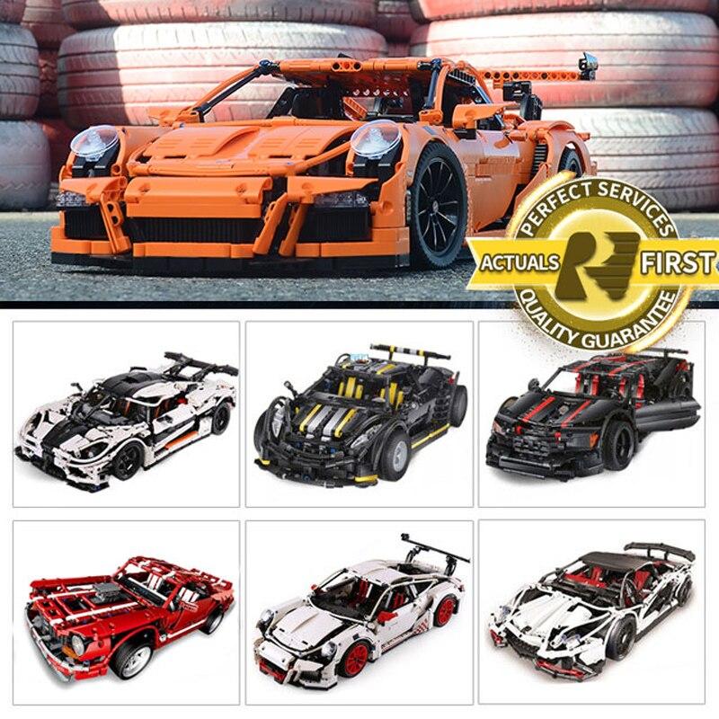 Лепин 20086 20001 23002 23006 20052 дизайн серии Bugatt Хирон super car кирпичи LegoINGlys 42083 42056 модель строительные блоки