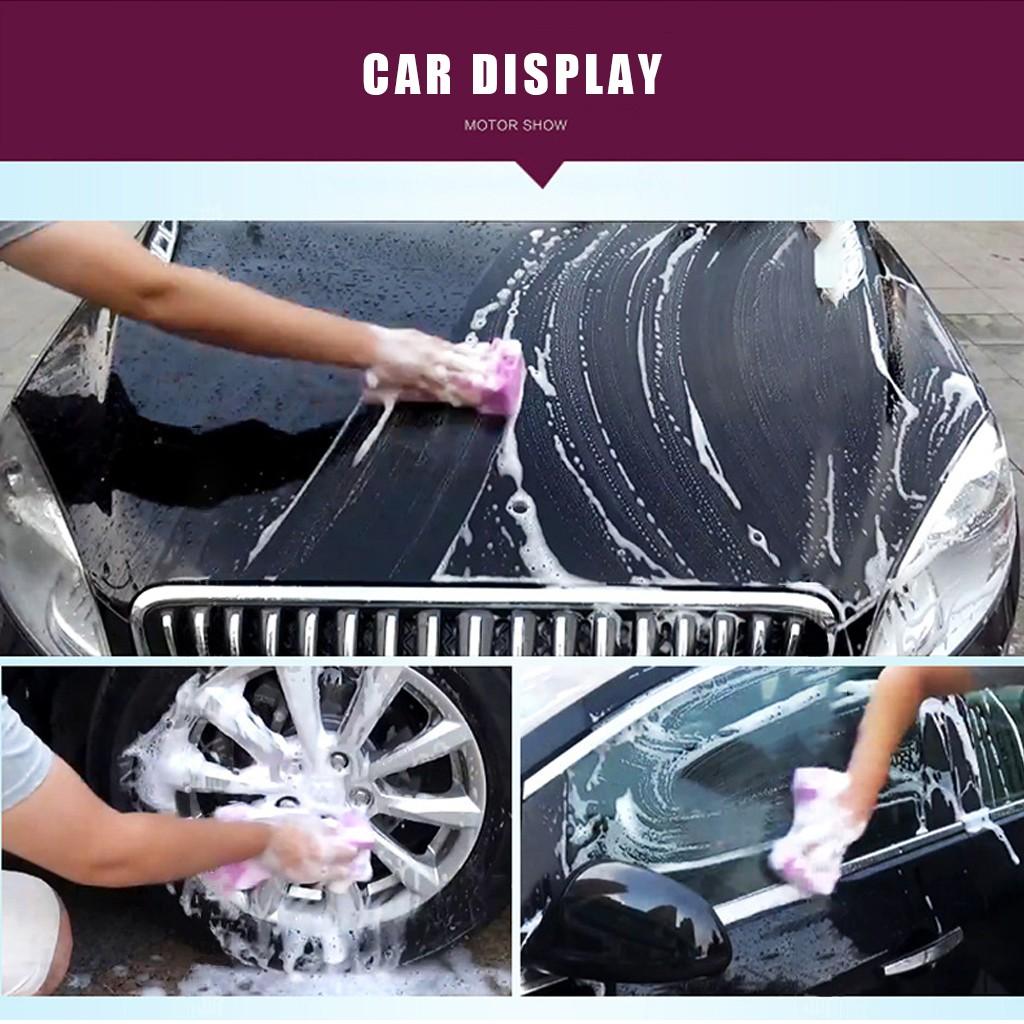 Best Selling 2019 Products Quicksand Type Honeycomb Car Wash Sponge For Polishing Waxing Keukenhulpjes Cleaning Brush Limpieza Let Our Commodities Go To The World Back To Search Resultshome & Garden
